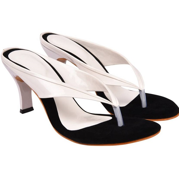 Jade Women White Heels