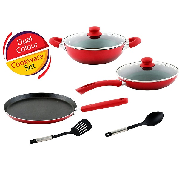 Kitchen Craft Induction Non Stick Cookware Combo