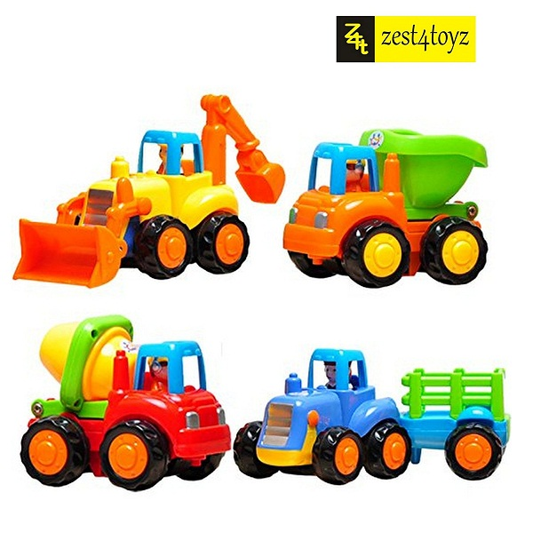 Zest 4 Toyz Unbreakable Automobile Car Toy Set