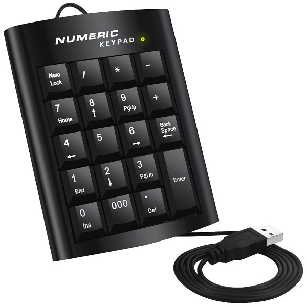 VistaraTrade USB Numeric Keypad For Laptop