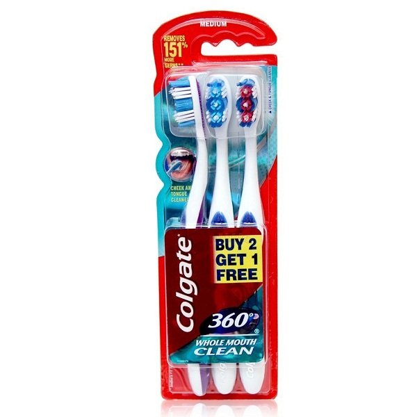 Colgate Toothbrush Saver Pack