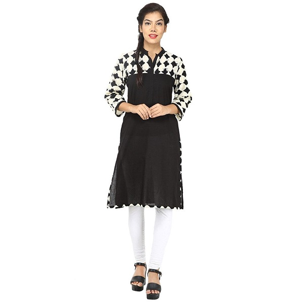 Aimbee womens Jaipuri Cotton Kurtas