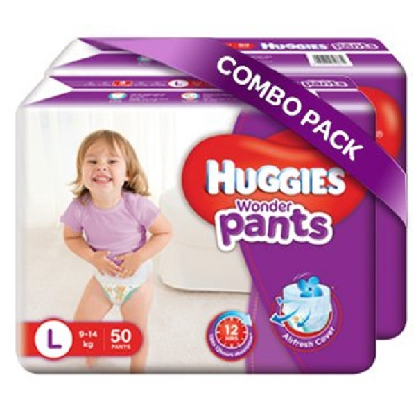 Huggies Wonder Pants Large Size Diapers