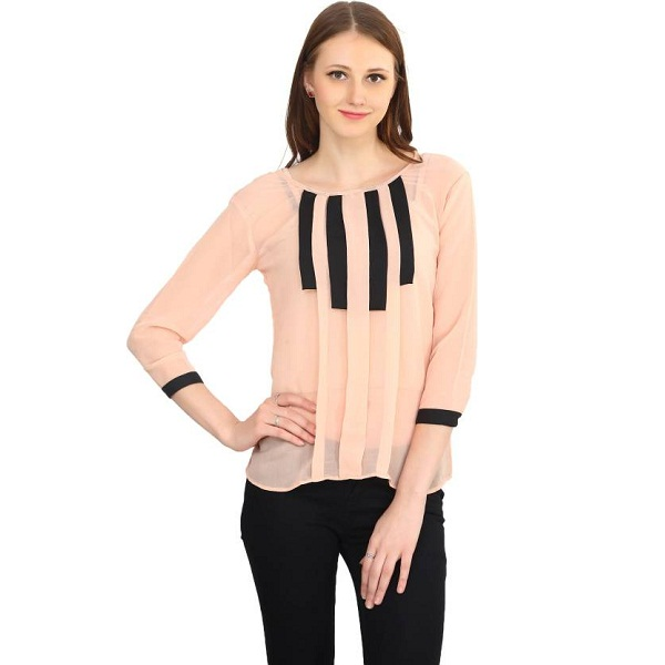 Funku Womens Pink Top