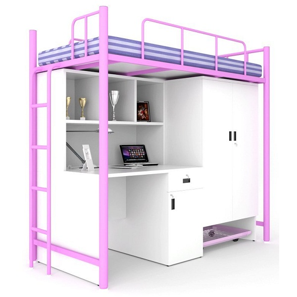 Unicos Jumbo Bunk Bed With Study Table