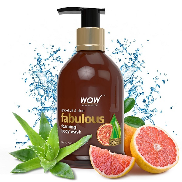 Wow Fabulous Foaming Body Wash