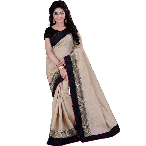 Sarvagny Clothing Self Design Fashion Banarasi Silk Saree