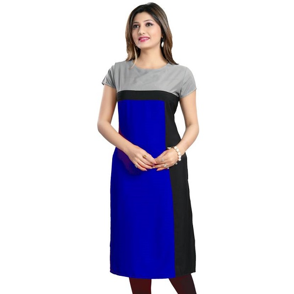 ALC Creations Casual Solid Womens Kurti