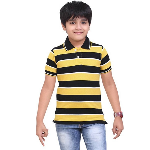 Dongli Boys Striped T Shirt