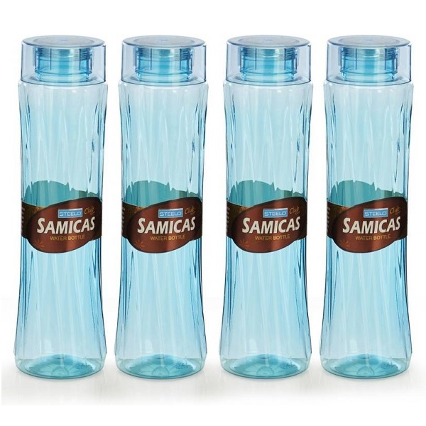 Steelo 1000ml 4 pcs Premium PET Bottle Set