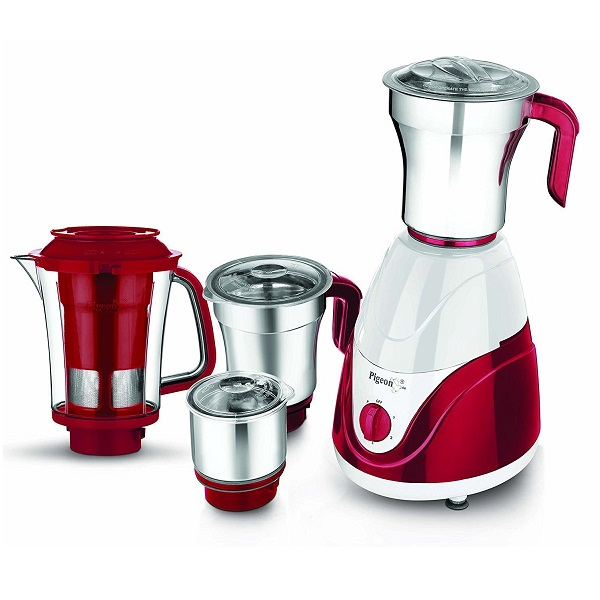 Pigeon Estella 750watts 4 Jar Mixer Grinder
