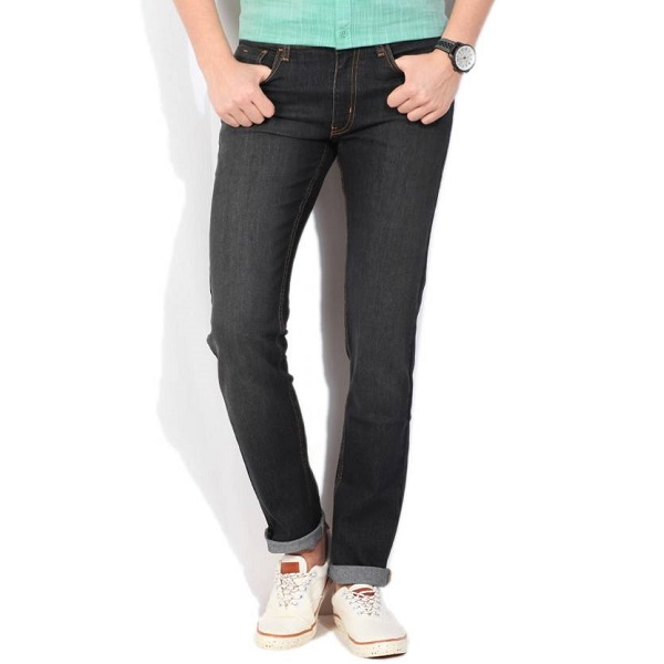 Izod Slim Mens Dark Blue Jeans