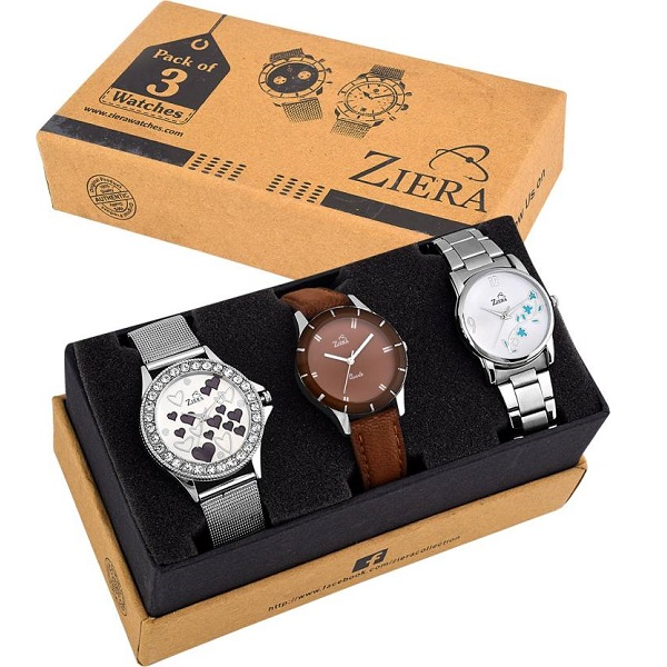 Ziera WOMEN WATCH COMBO