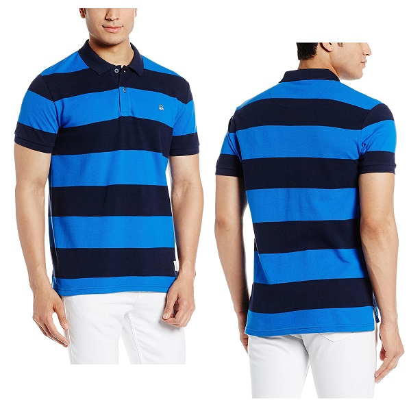 United Colors of Benetton Mens Cotton Polo