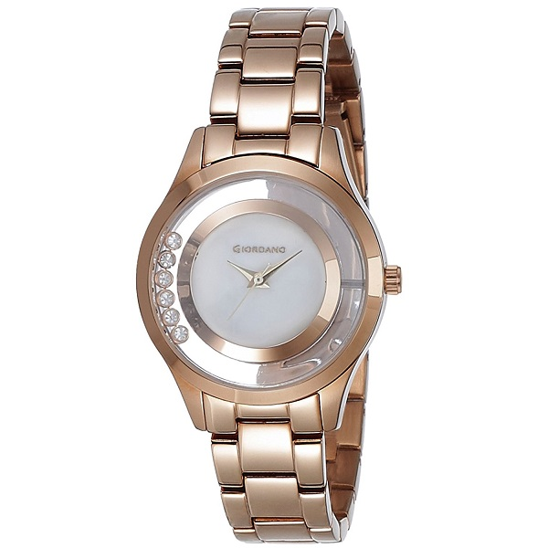 Giordano Analog White Dial Womens Watch