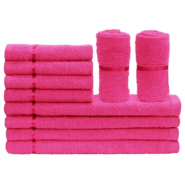 10 Piece 450 GSM Cotton Face Towel Set