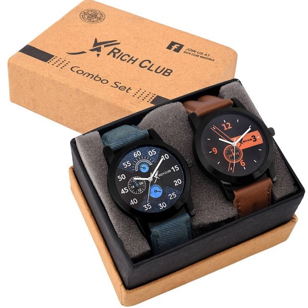 Rich Club Set Of Two Combo Watch