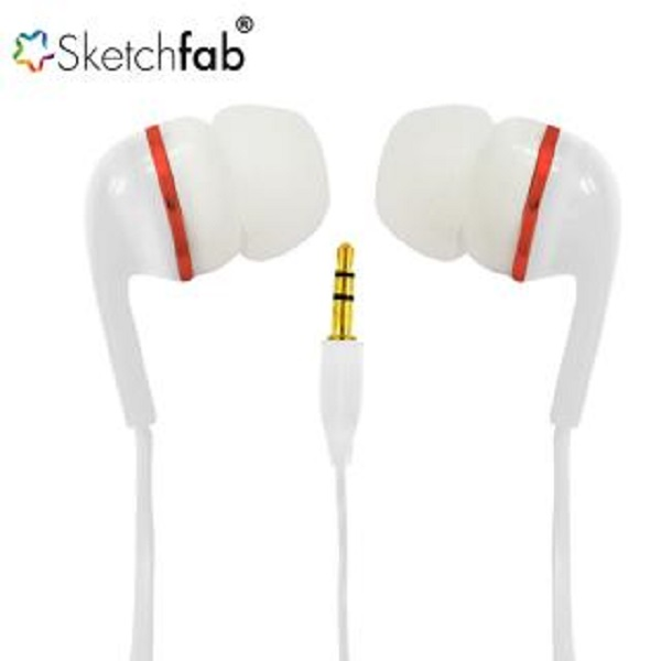 Sketchfab Earphone