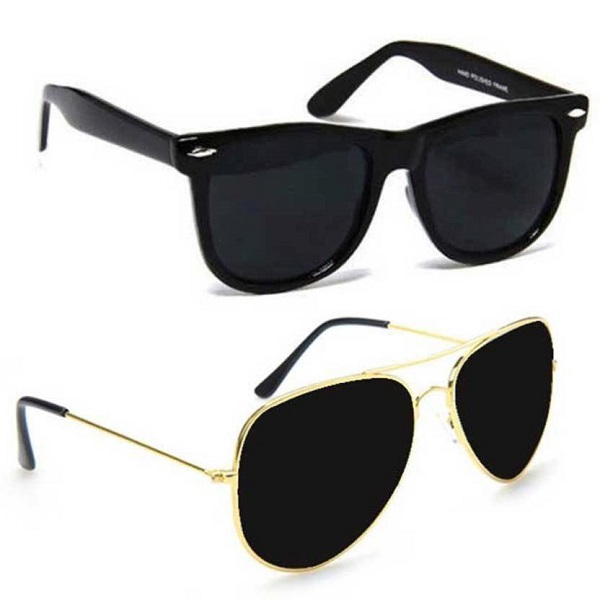 Cruze Wayfarer And Aviator Sunglasses