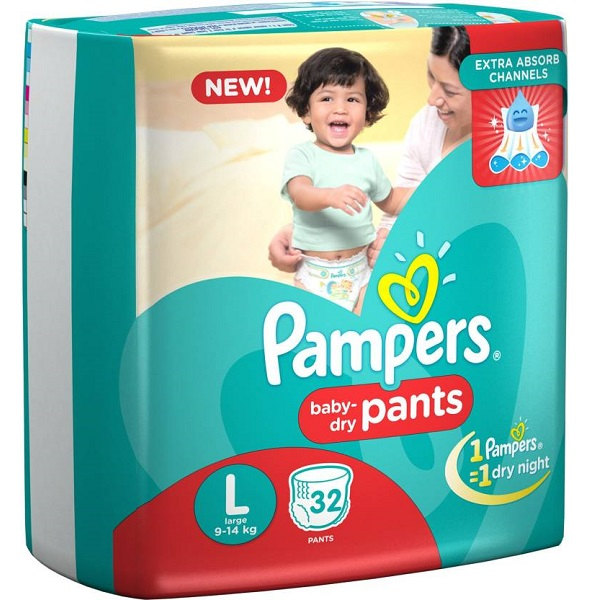 Pampers Pampers Pants Diapers Large