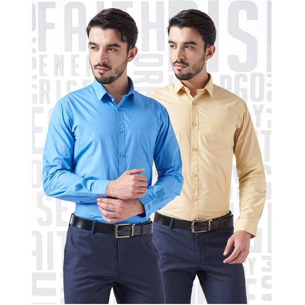 Metronaut Mens Formal Shirts Combo