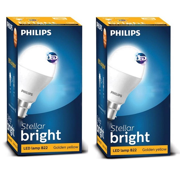 Philips B22 LED Bulb Pack Of 2
