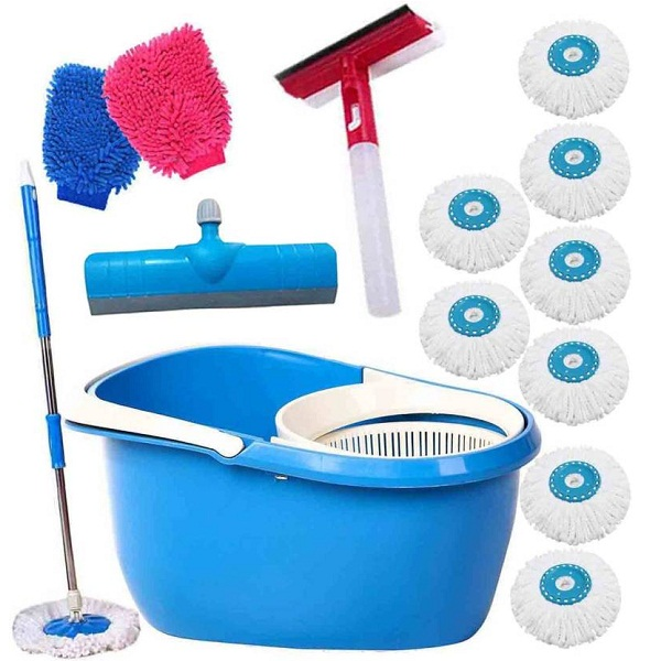 THUNDERFIT UNBREAKABLE BUCKET Mop Set