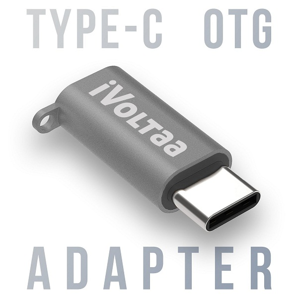 iVoltaa USB Type C OTG Adapter