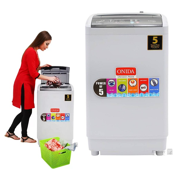 Onida 6 kg Fully Automatic Top Load Washing Machine
