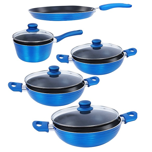 Nirlon Aluminium Cookware Set 5Pieces