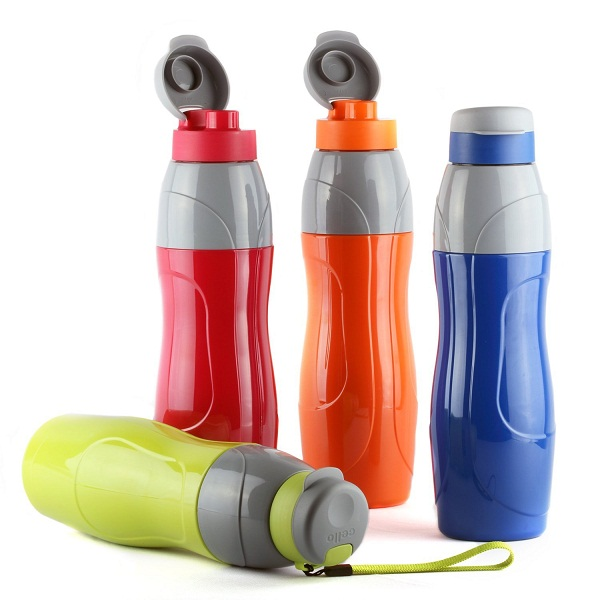 Cello Puro Set Of 4 Sports Insulated Water Bottles
