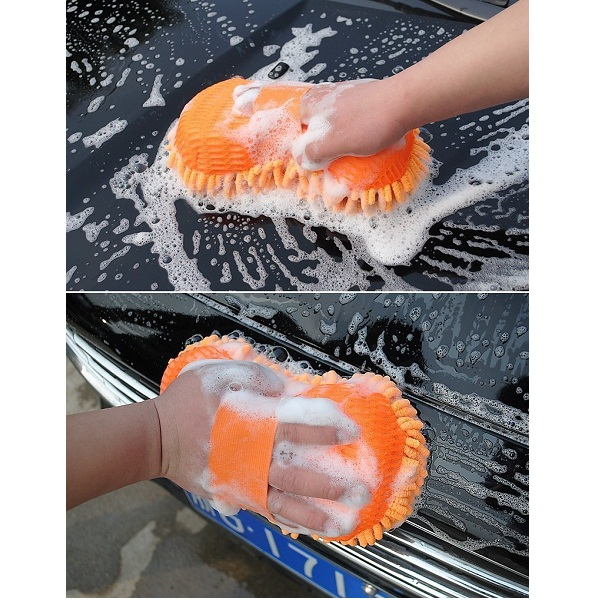 Multipurpose Microfibre Wash And Dry Cleaning Sponge