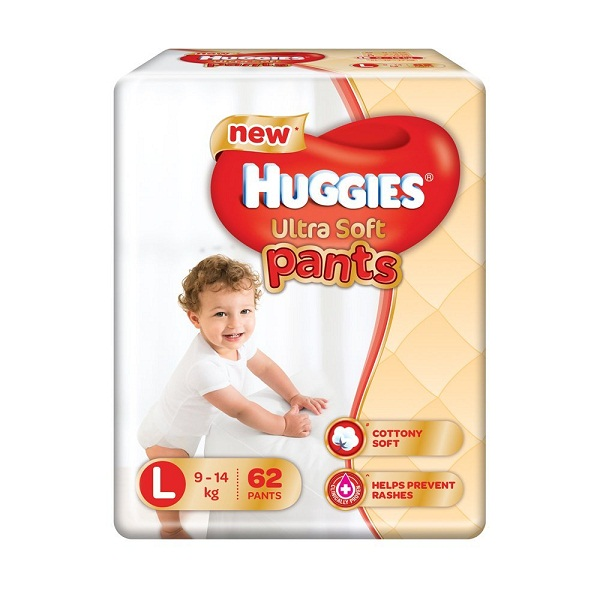 Huggies Ultra Soft Pants Large Size Premium Diaper