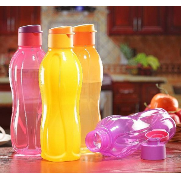 Tupperware Pack of 4 Fliptop 750 ml Bottle