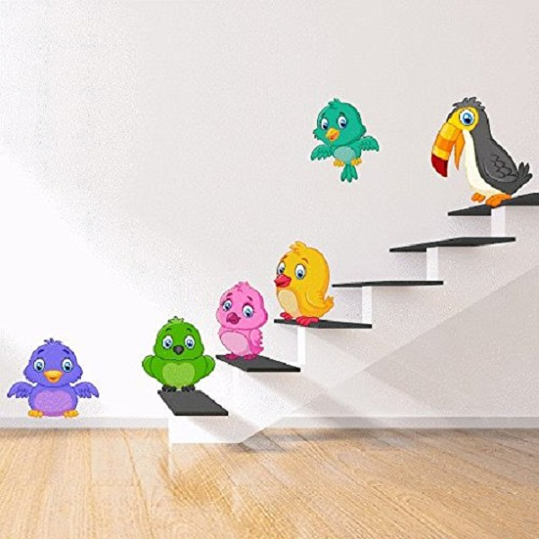 DeStudio Bird Kids Wall Sticker