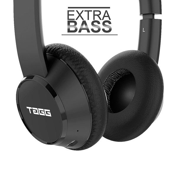 TAGG PowerBASS Wireless Bluetooth Headphones with Mic