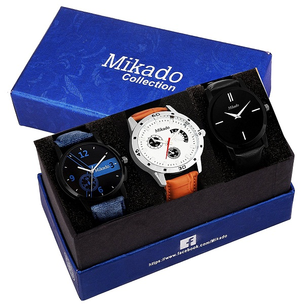 Mikado Multicolor Fashionable watches combo