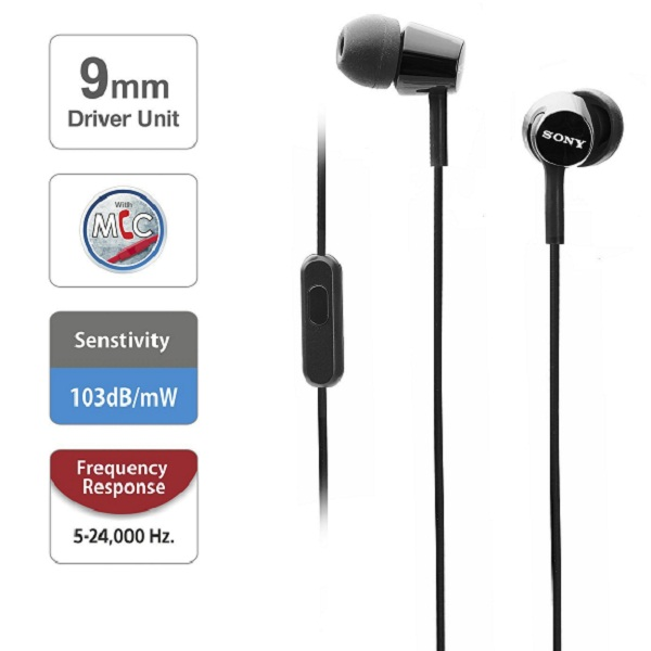 Sony In Ear Headphones with Mic
