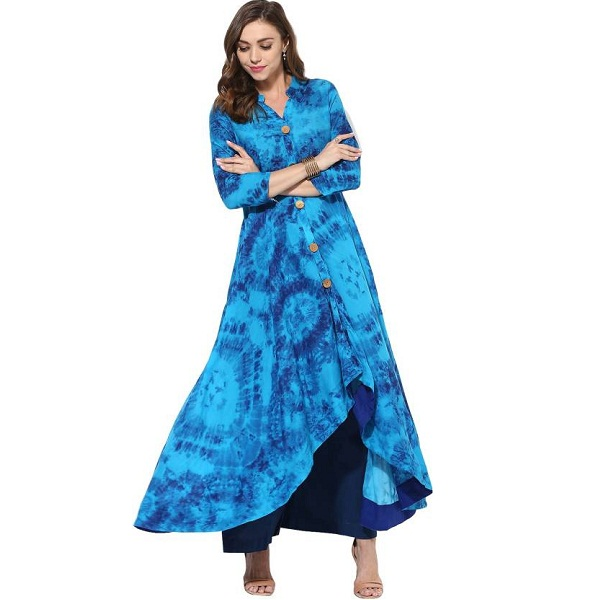 Get Glamr Abstract Womens A line Kurta