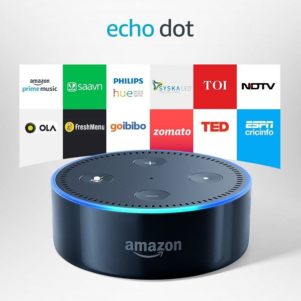 Echo Dot Voice control
