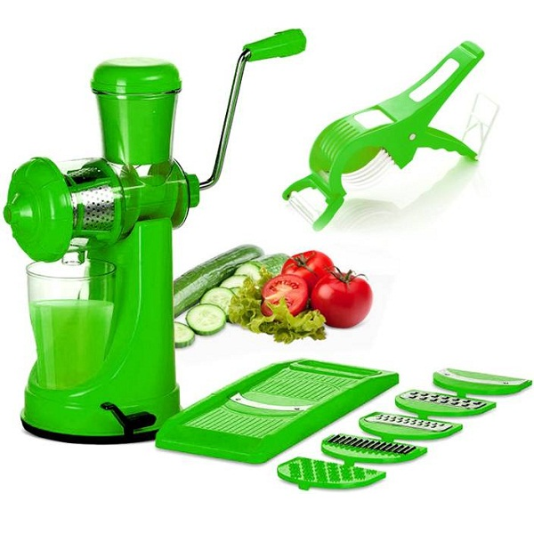 BMS Lifestyle juicer combo set Green Kitchen Tool Set