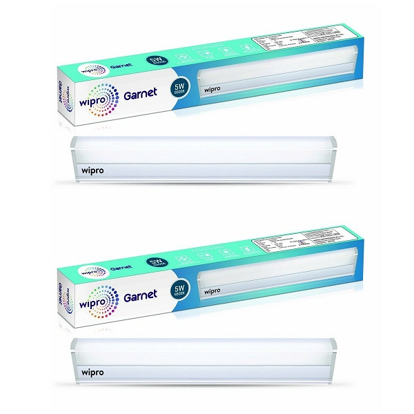 Wipro Garnet 5 Watt LED Batten Pack of 2