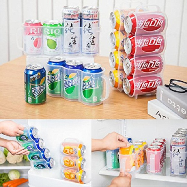 Getko Plastic Soda Can Storage Holder