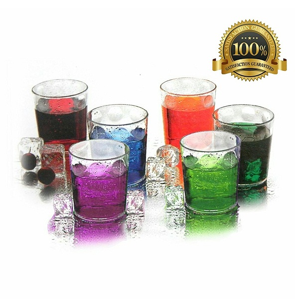 Unbreakable Stylish Transparent Glass Set
