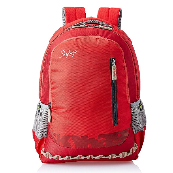 Skybags Red Laptop Backpack