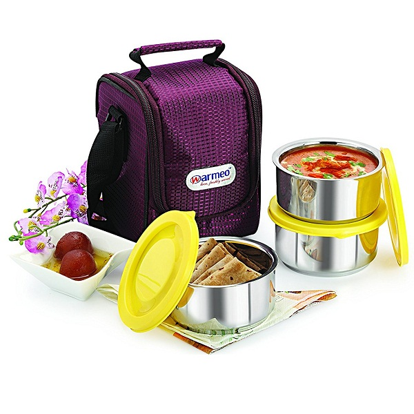 Warmeo Nutri Warm Stainless Steel Lunch Box