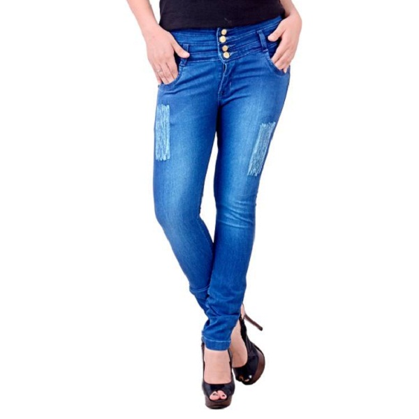 Blinkin Slim Womens Blue Jeans