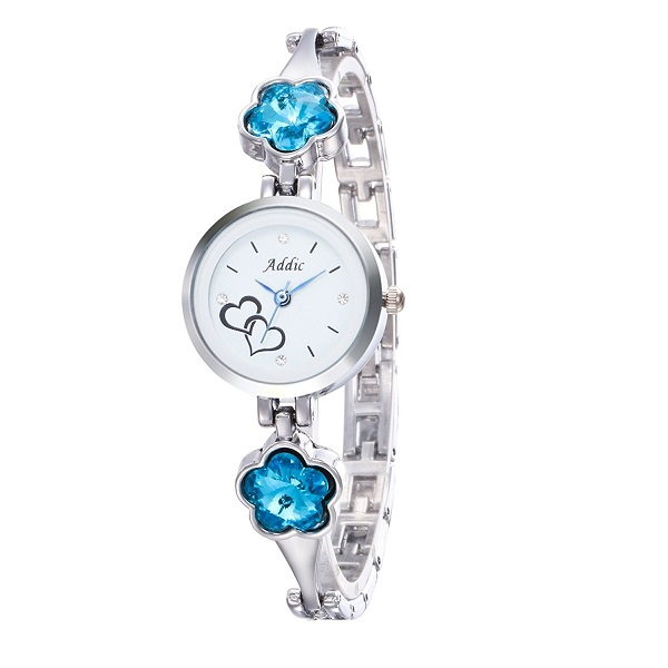 Addic Analogue White Dial Womens Watch
