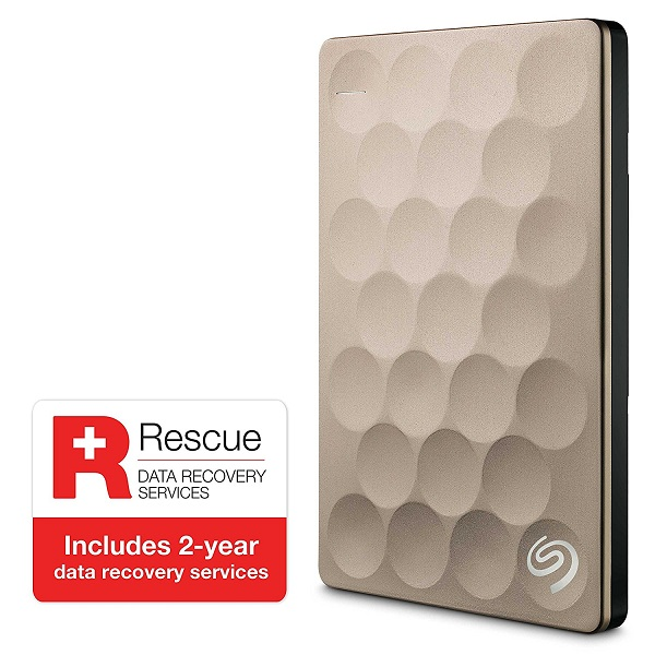 Seagate Backup Plus Ultra Slim 1TB  External Hard Drive