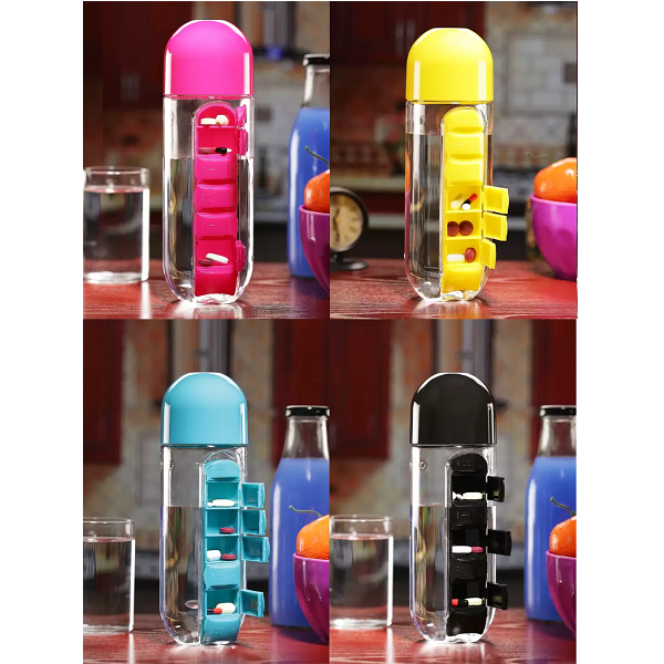MasterCool Pill Organizer 600 ml Bottle